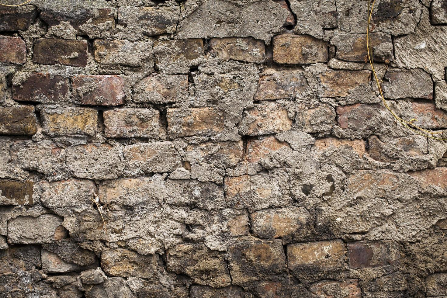 Textura de fondo de pared de ladrillo de piedra grunge foto