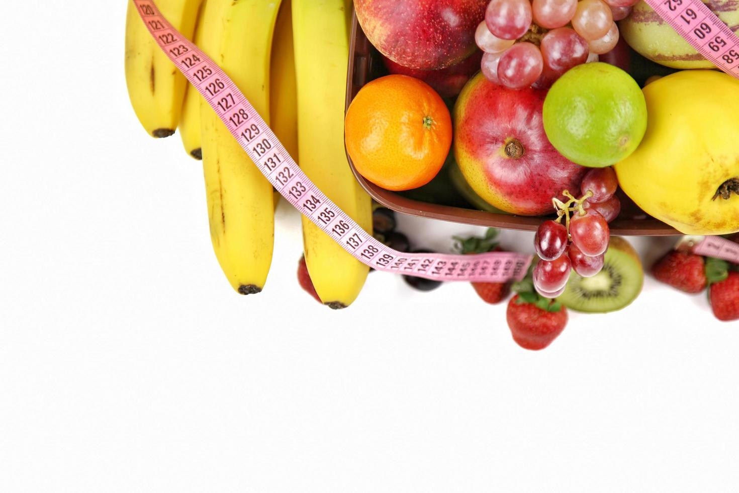 Mix of Vegetarian Organic Food Fruits photo