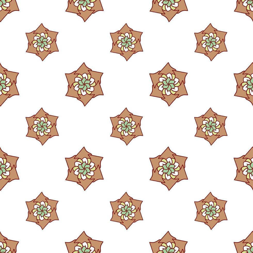 patrón de fondo repetido dibujado a mano vector