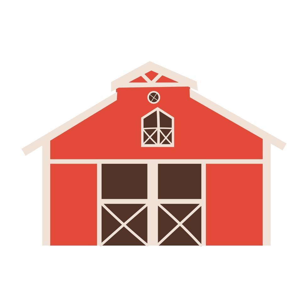 House design, Farm nature rural farming harvest countryside vector