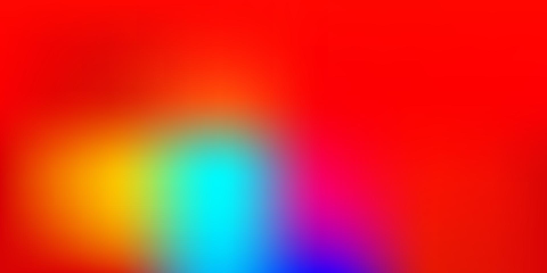 Telón de fondo de desenfoque de vector multicolor oscuro.
