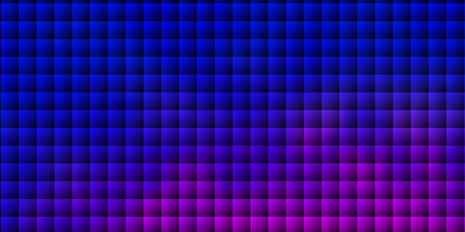 Telón de fondo de vector azul claro, rojo con rectángulos.