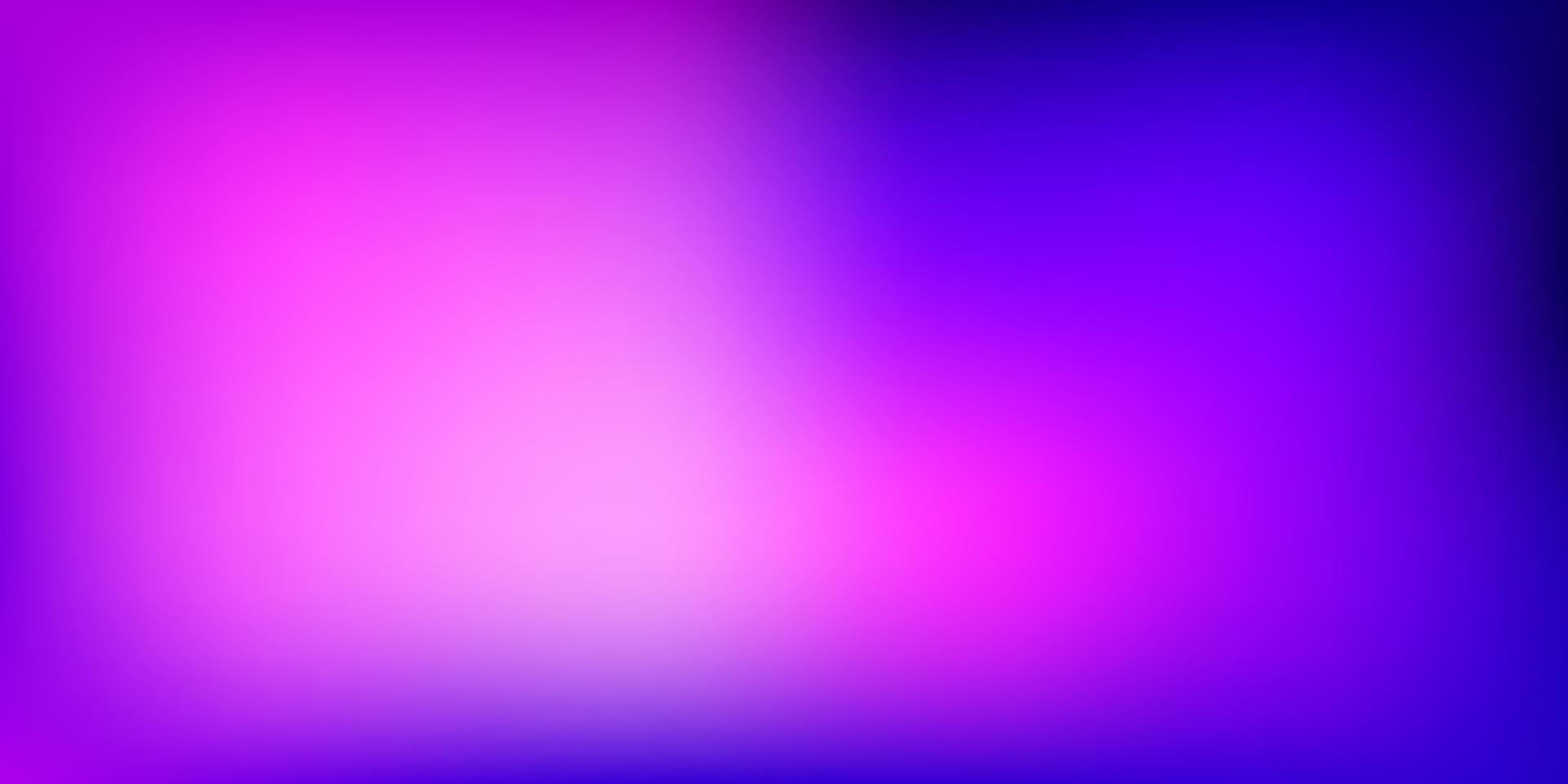 Telón de fondo borroso vector violeta claro, rosa.