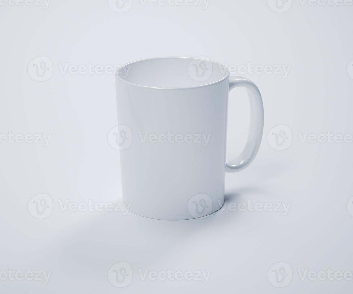 White Mug Mockup photo