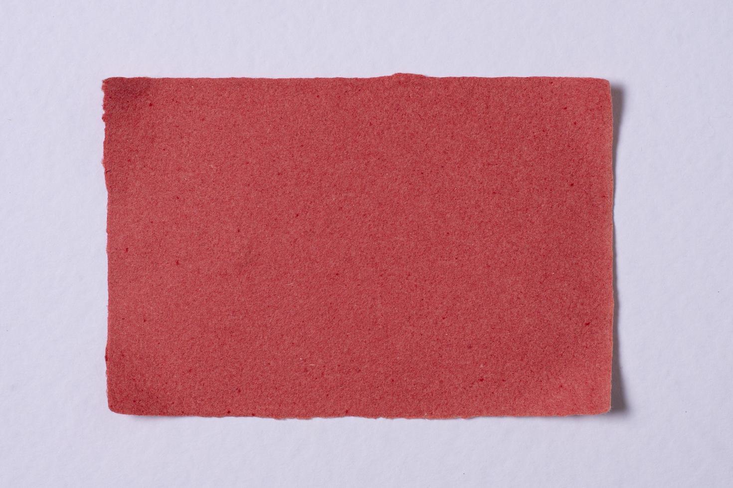 la vista superior de la textura del papel foto