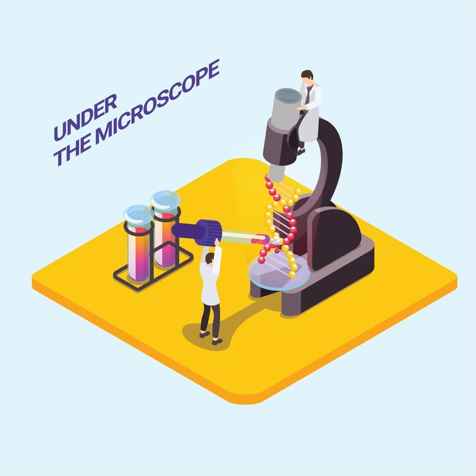 3d design platform with small character vector ilustration