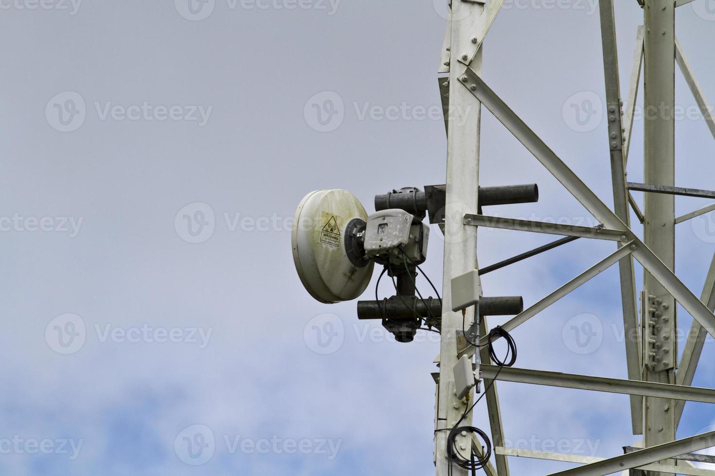 receptor de torre de radio foto