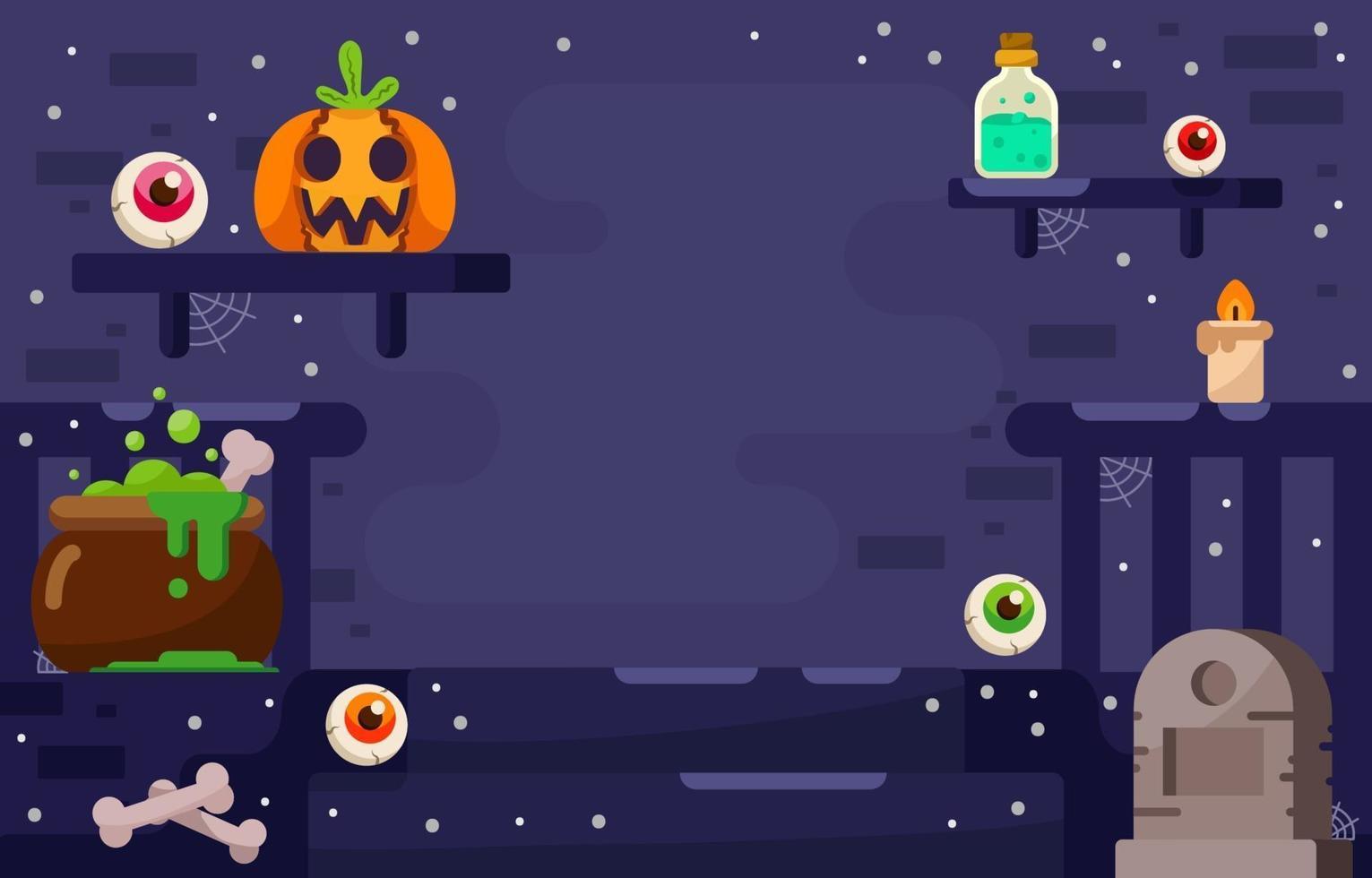 Halloween Festivity Background vector