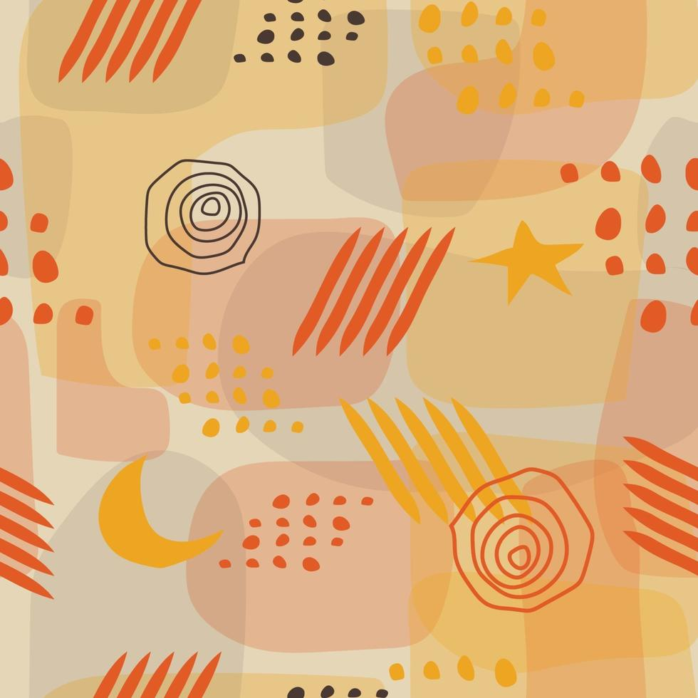 Colourfull Abstract Seamless Pattern vector