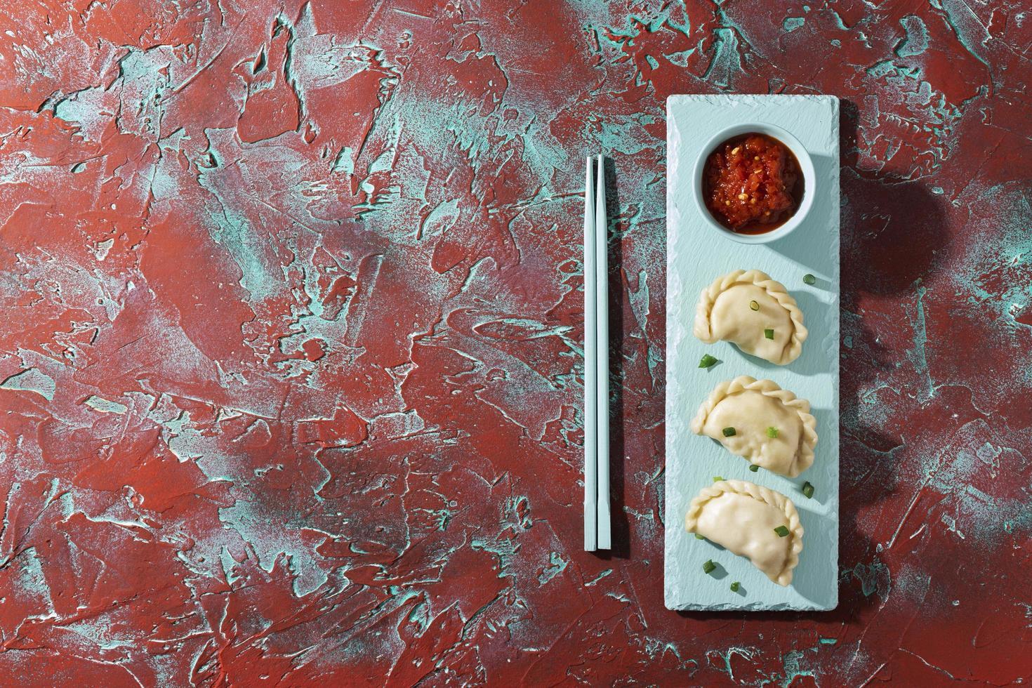 el delicioso arreglo del plato sambal foto