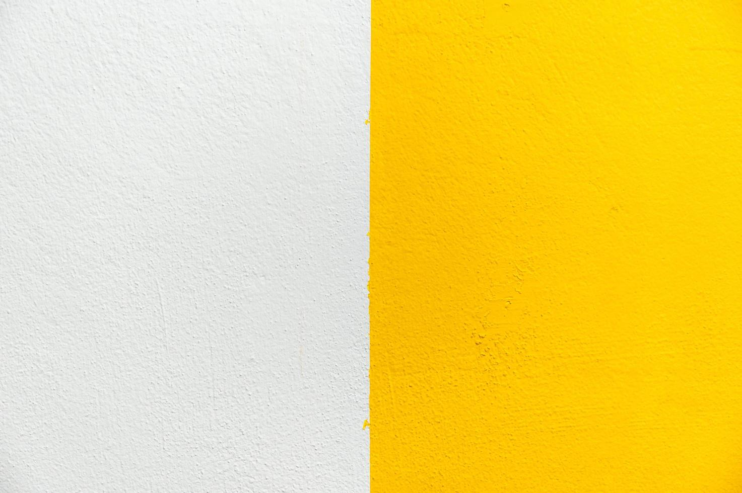 Blurred White and Yellow stucco wall background. photo