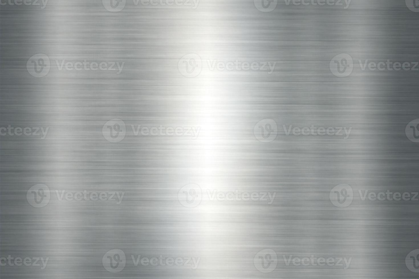 Steel texture background with reflection photo
