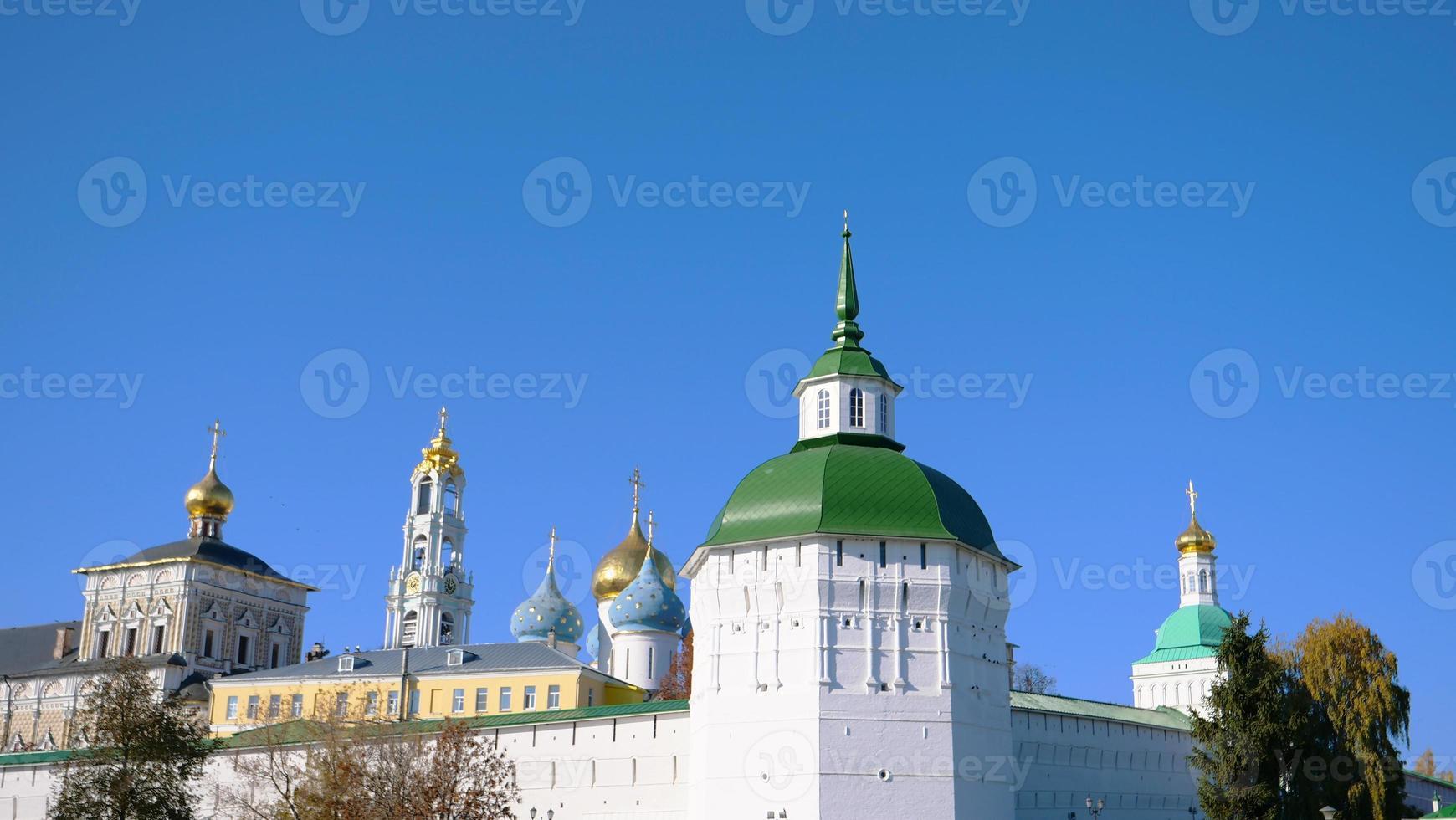 trinity sergius lavra en sergiev posad en moscú rusia foto