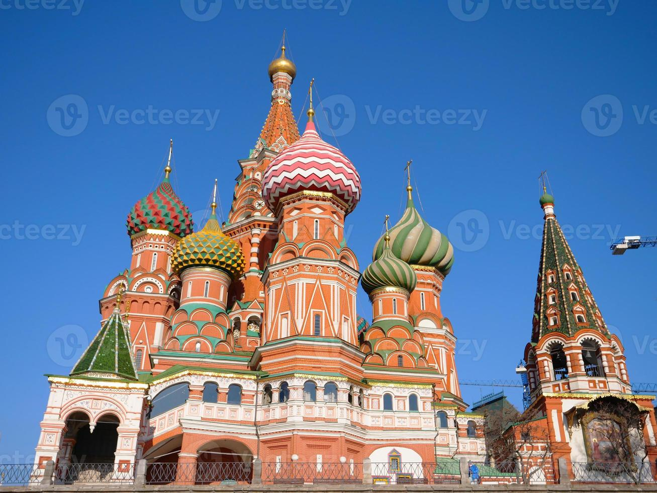 St. Basil's Cathedral in Red Square Moscow Kremlin, Russia photo