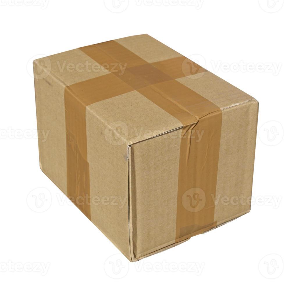 paquete aislado sobre un fondo blanco foto