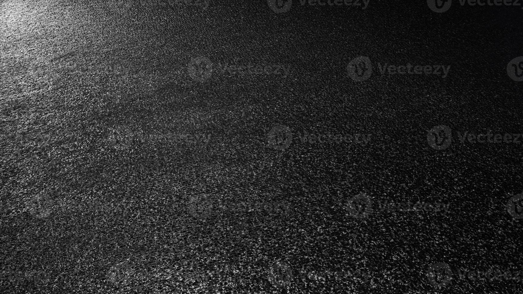 Representación 3d texturizada de plástico mate blanco y negro foto