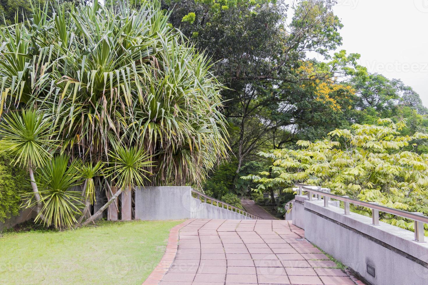 Jardines botánicos de Perdana en Kuala Lumpur, Malasia foto