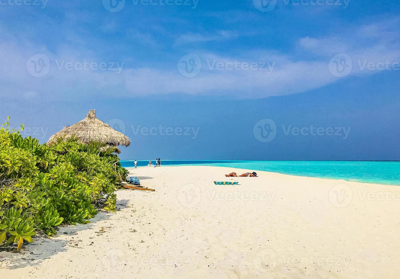 Sandbank islas madivaru y finolhu en rasdhoo atoll, maldivas foto