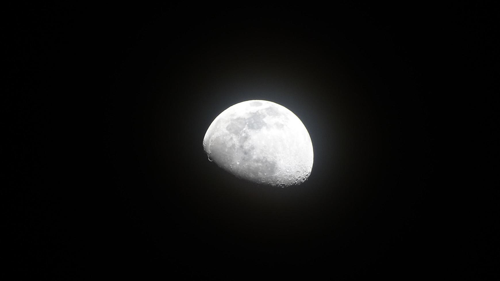 sombras de la luna en foto
