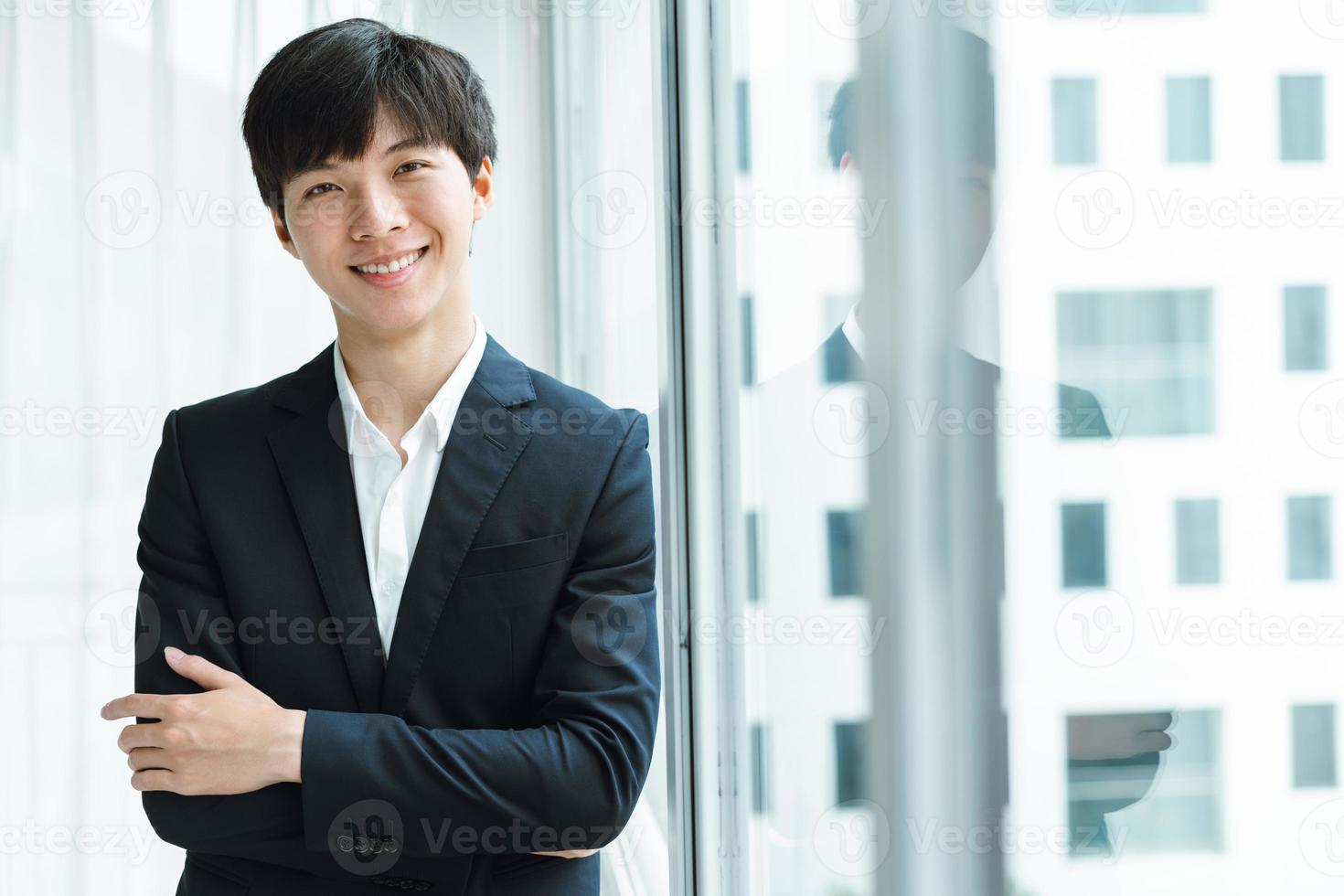 A man in a business suit photo