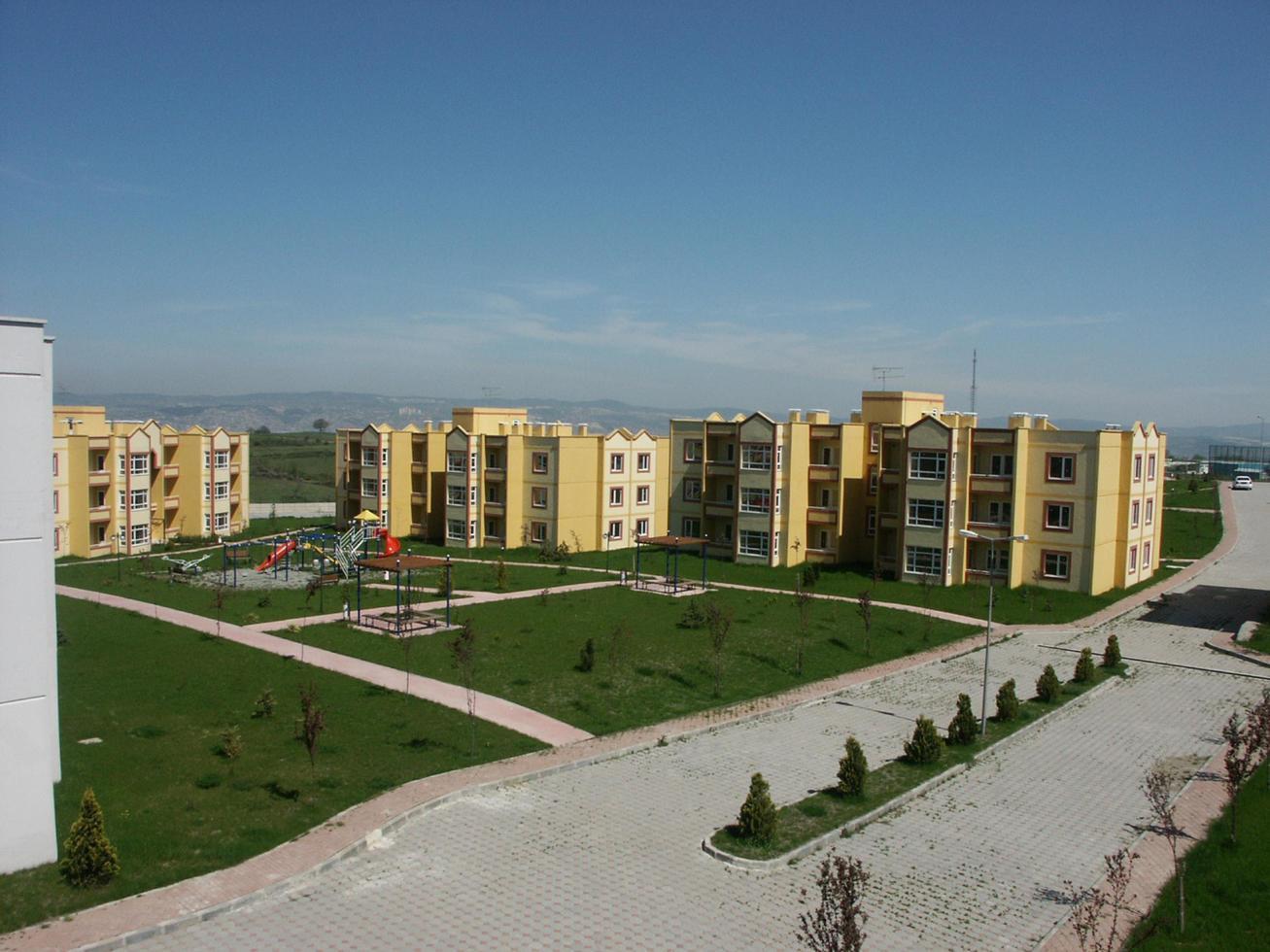 edificios cooperativos de vivienda pública foto