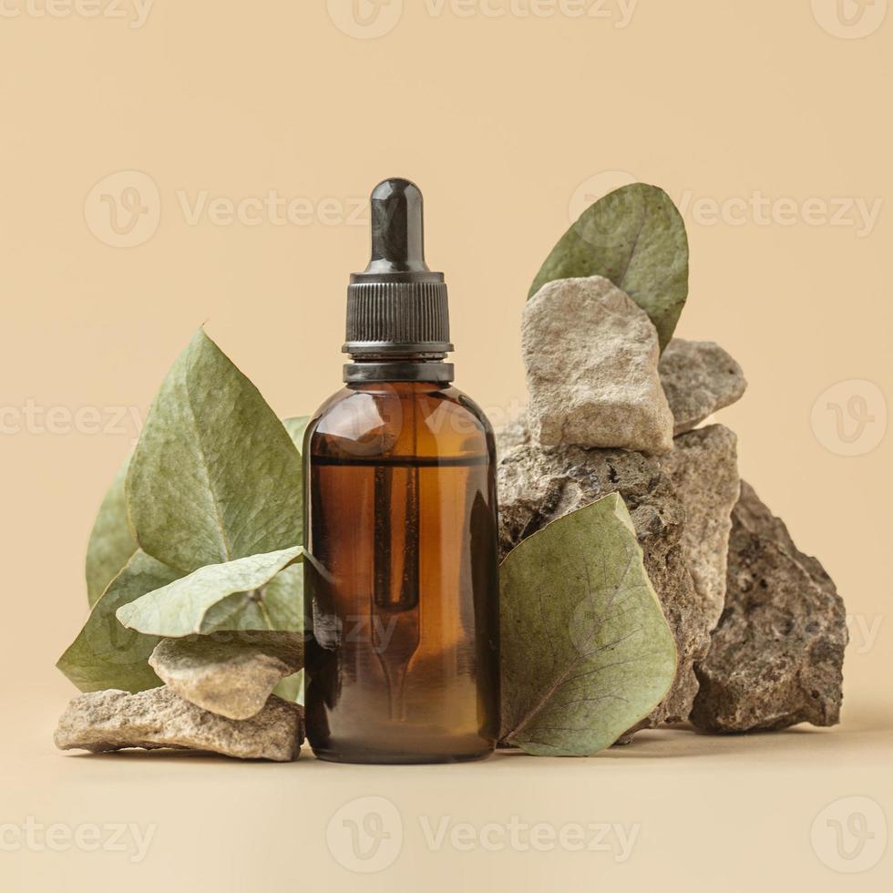 aceite de planta verde foto