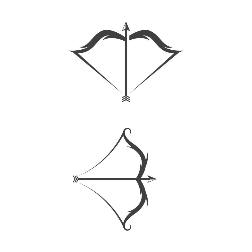Crossbow Vector icon design illustration