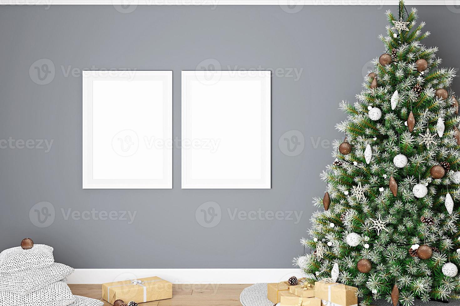 maqueta de marco de navidad-306 foto