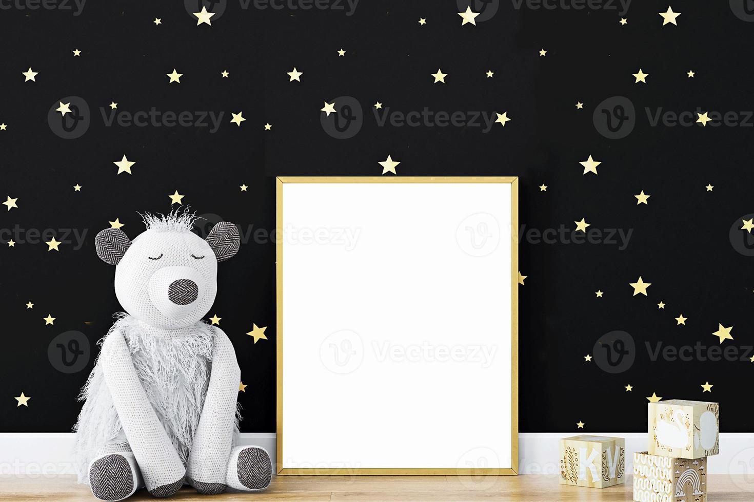 maqueta de marco para niños -310 foto