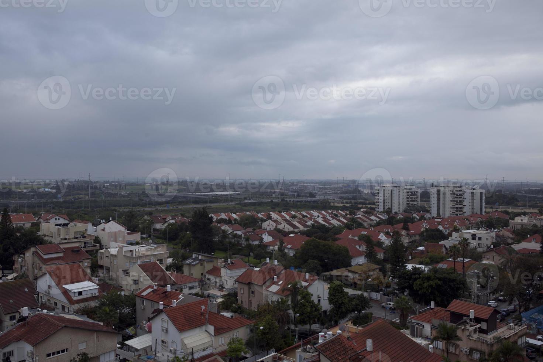 increíbles paisajes urbanos de israel, vistas de la tierra santa foto