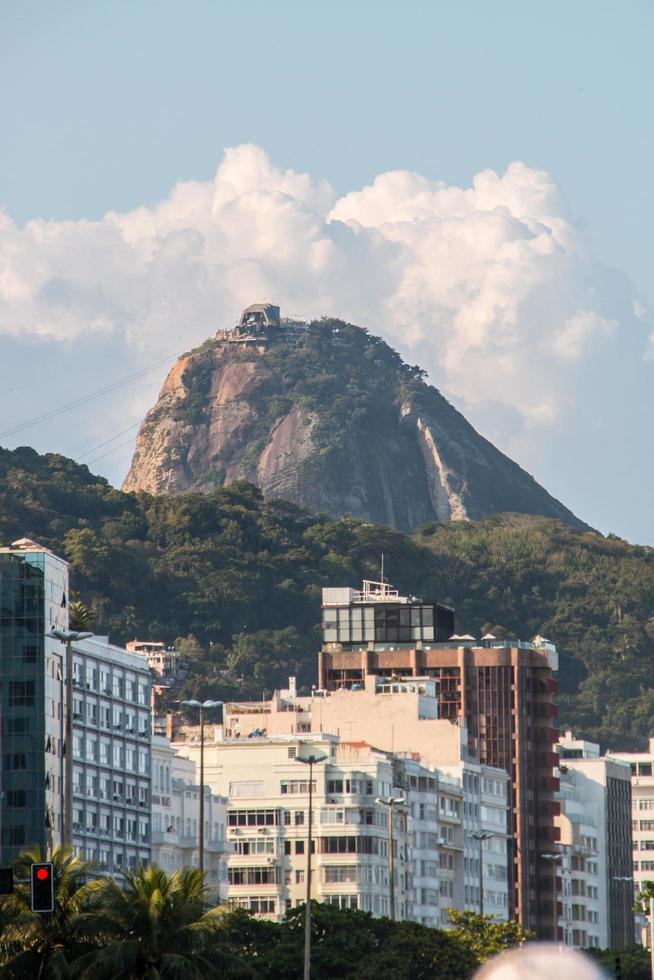 Río de Janeiro, Brasil, 2021 - Pan de Azúcar visto desde Copacabana foto