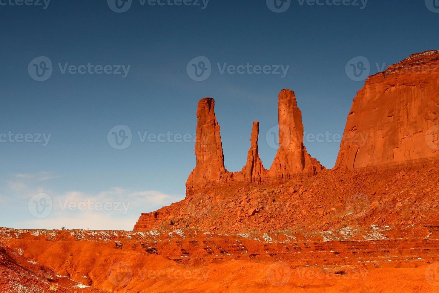 tres hermanas monumen valle foto