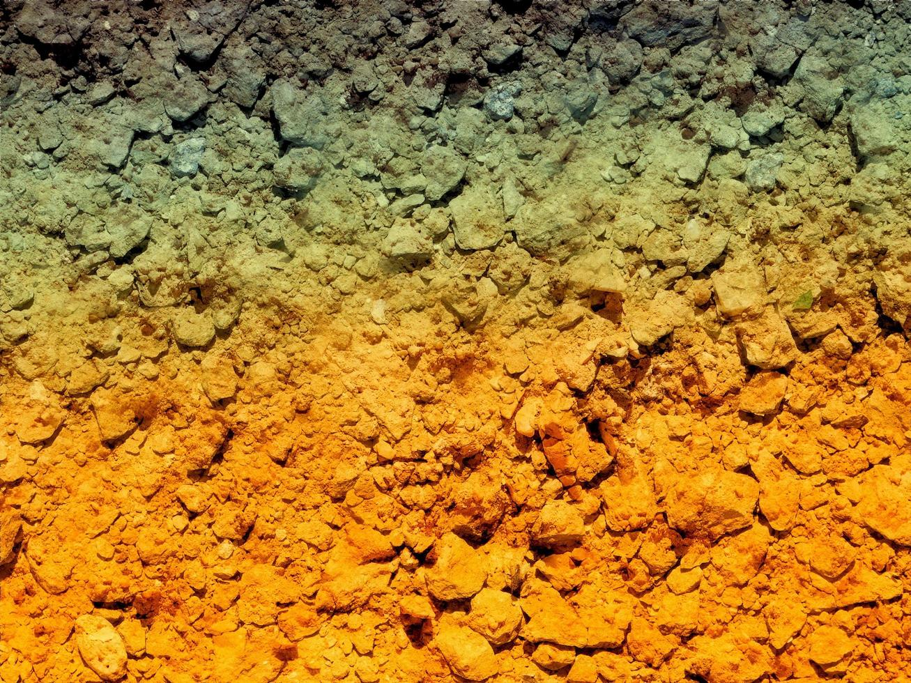 textura del suelo al aire libre foto