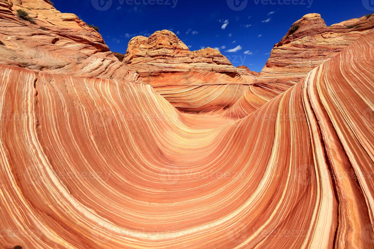 La formación de arena Wave Navajo en Arizona, EE. foto
