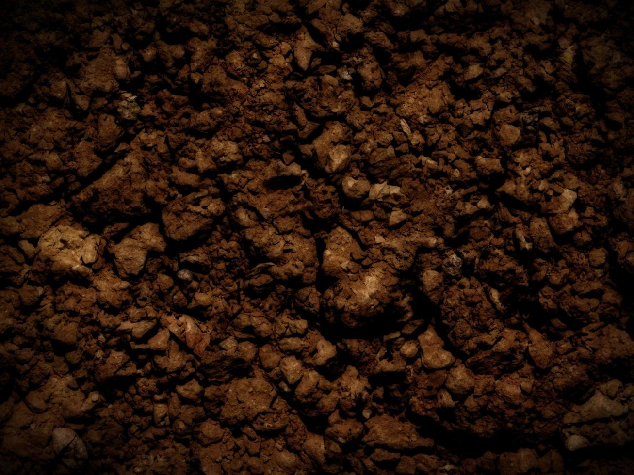 textura tierra oscura foto