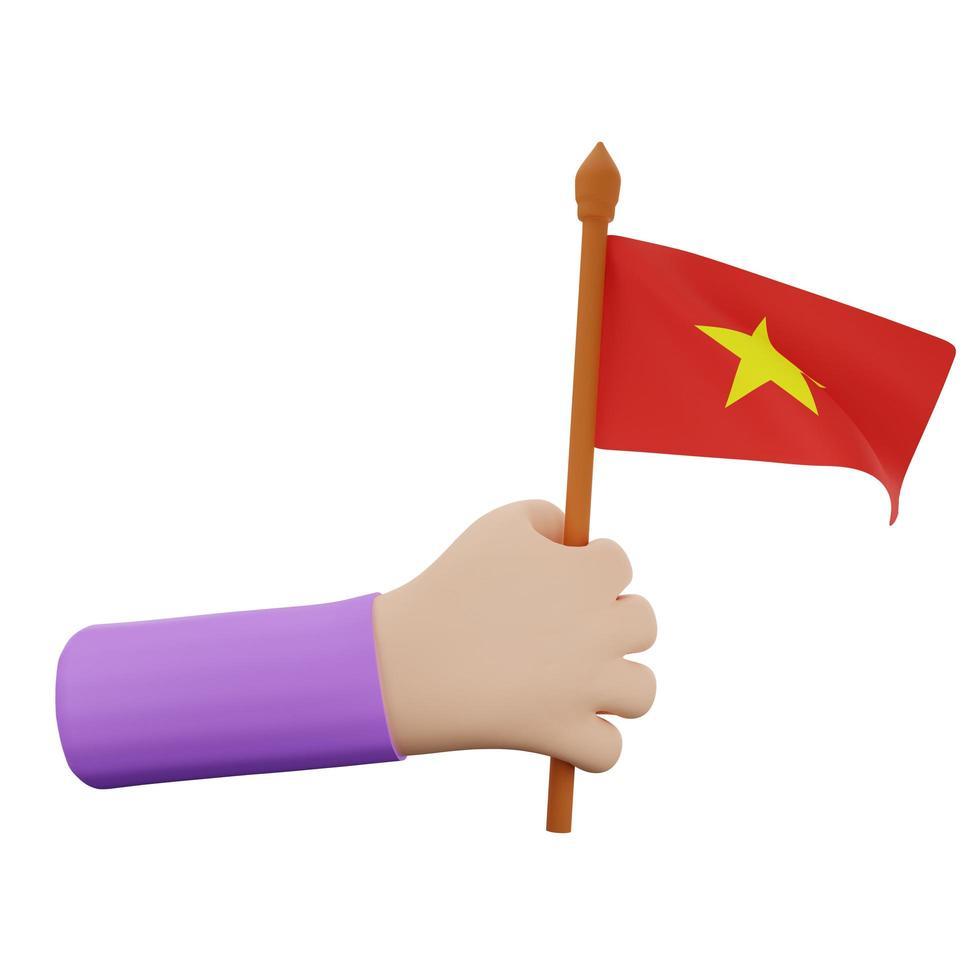 concepto del día nacional de vietnam foto