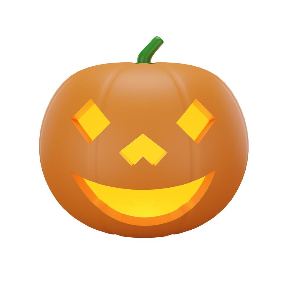 calabaza con concepto de halloween foto