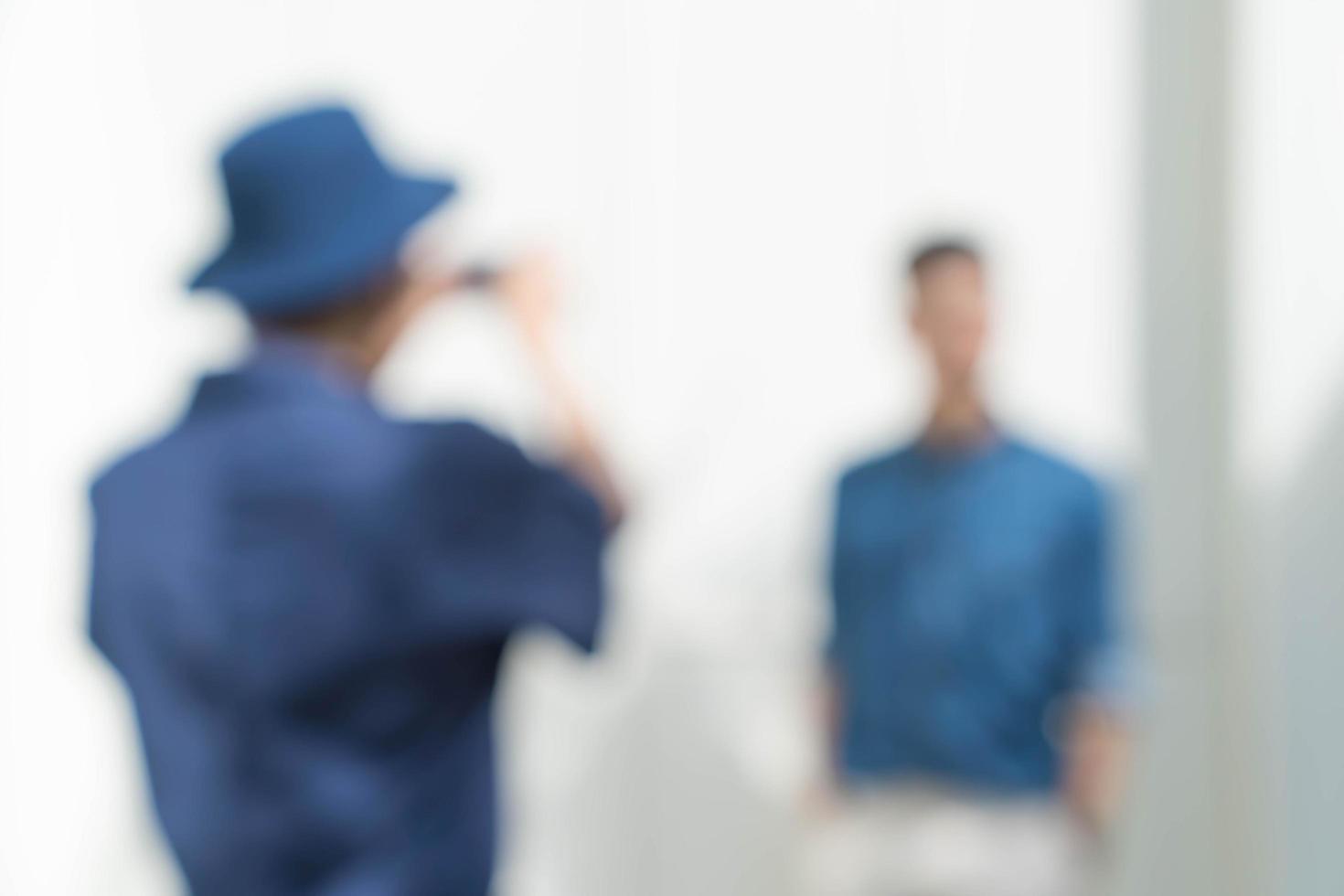 desenfoque abstracto personas tomando una foto de fondo