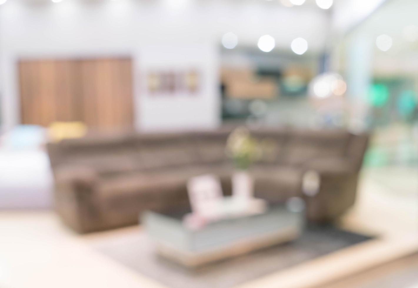 Desdibujar la imagen del interior de la sala de estar moderna para el fondo foto