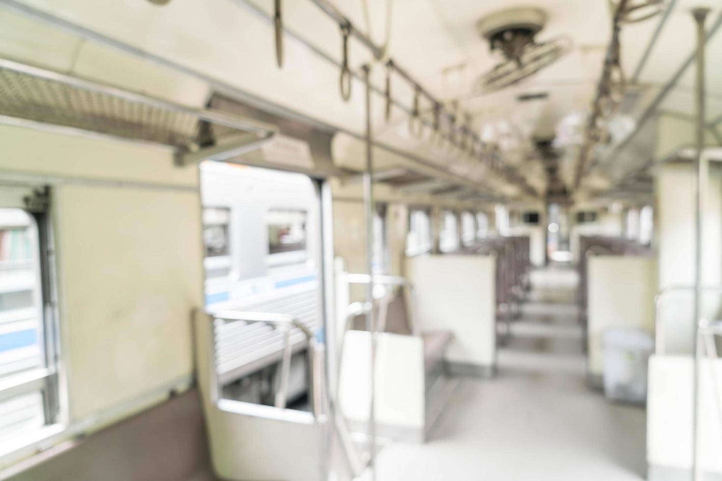 tren de desenfoque abstracto para el fondo foto