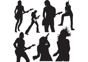 Live-music-vector-silhouettes