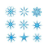 Pack Snowflake Vector