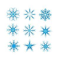 Vector-snowflake-pack