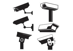 CCTV Camera Vector Grafiek