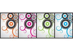 Cool curly vectors, Free4all