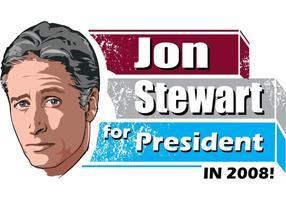Jon Stewart para o presidente!