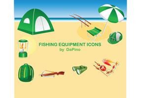 Fishing Equipment Icons