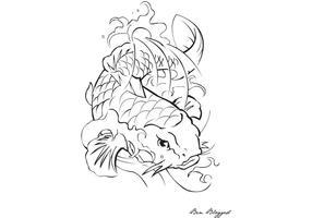Coi Fish - Tatuaje