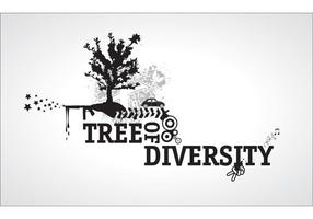 Vector-tree-of-diversity