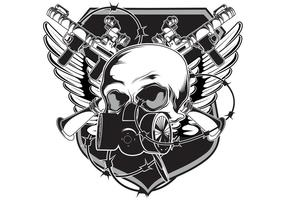 Gratis Vector Emblem